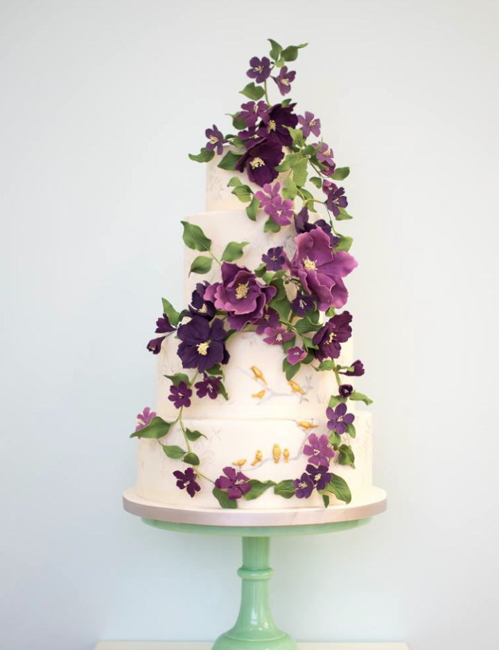 36 Wedding Cake Ideas with Luxurious Floral Designs