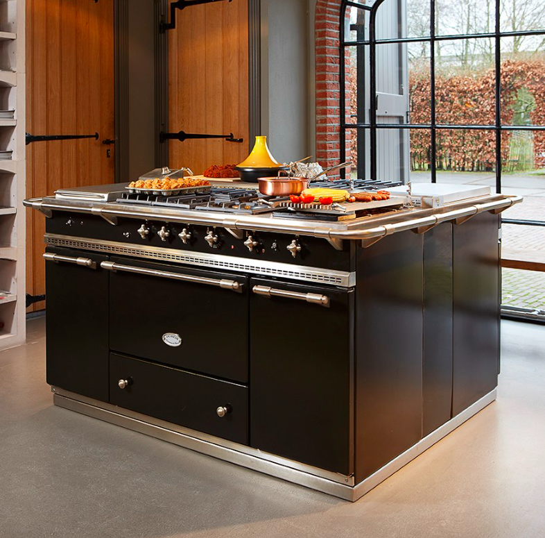 Lacanche fontenay range cooker dream lacanche kitchens pinterest range cooker ranges and - Aga cucine prezzi ...