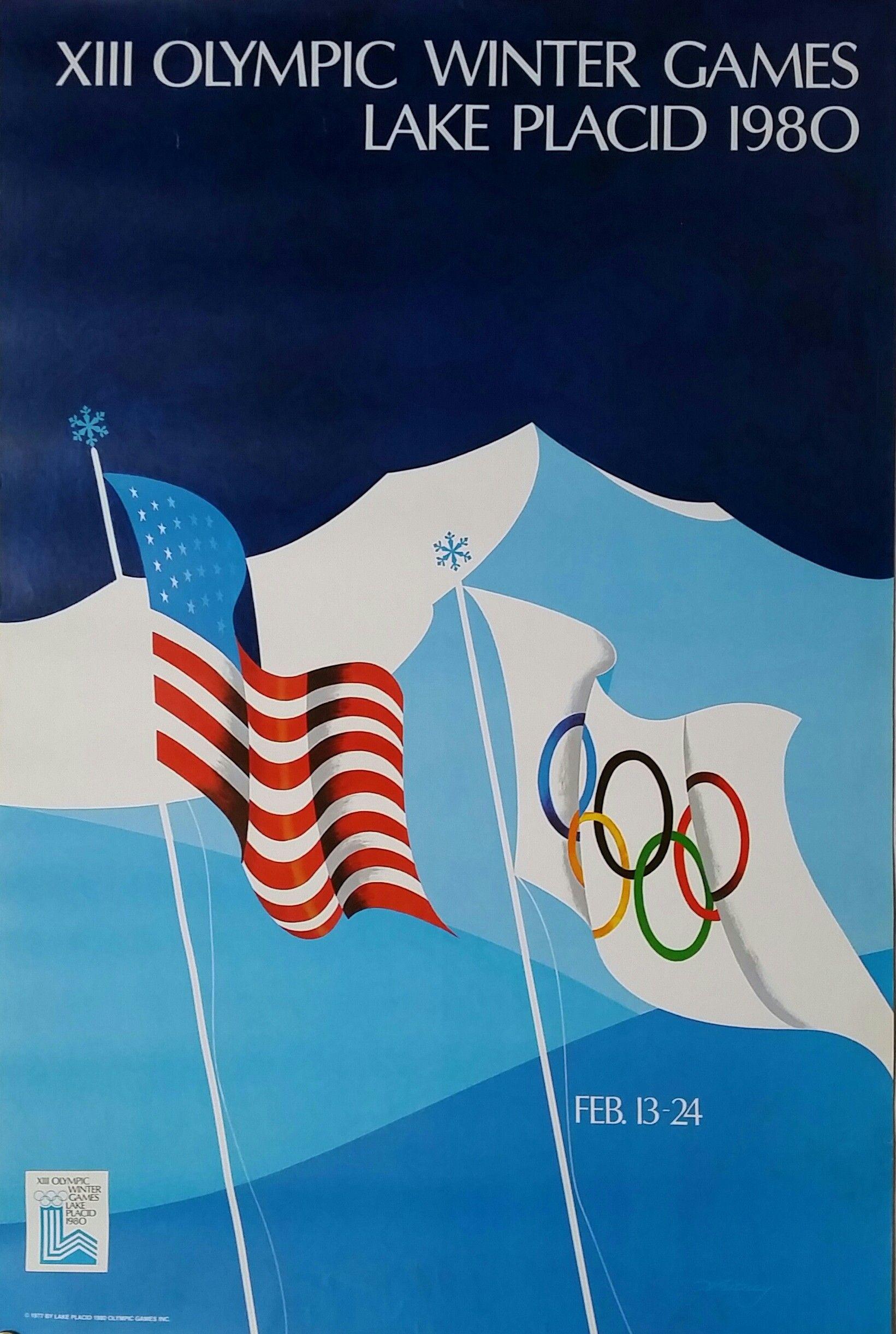 1984 Winter Olympics Sarajevo A3 Poster Reprint