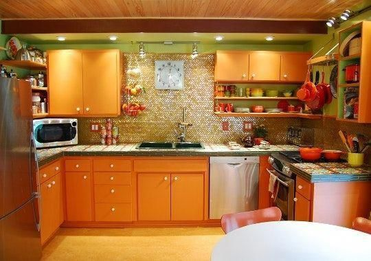 A Complete Colorful Kitchen RenovationOn a Budget - Kitchen Renovation On A Budget