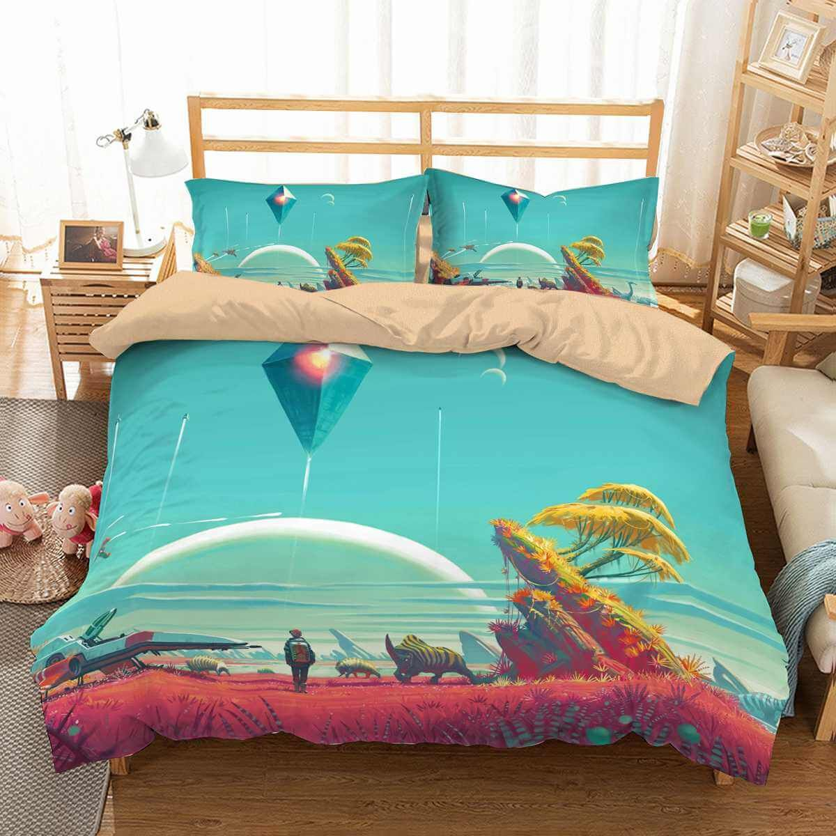 3d Customize No Man S Sky Bedding Set Duvet Cover Set Bedroom Set