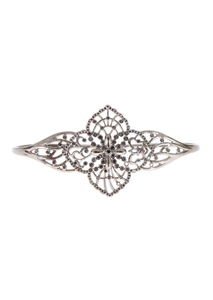 Gaydamak Bracelets :: Gaydamak black diamonds and gold Kili handbracelet | Montaigne Market