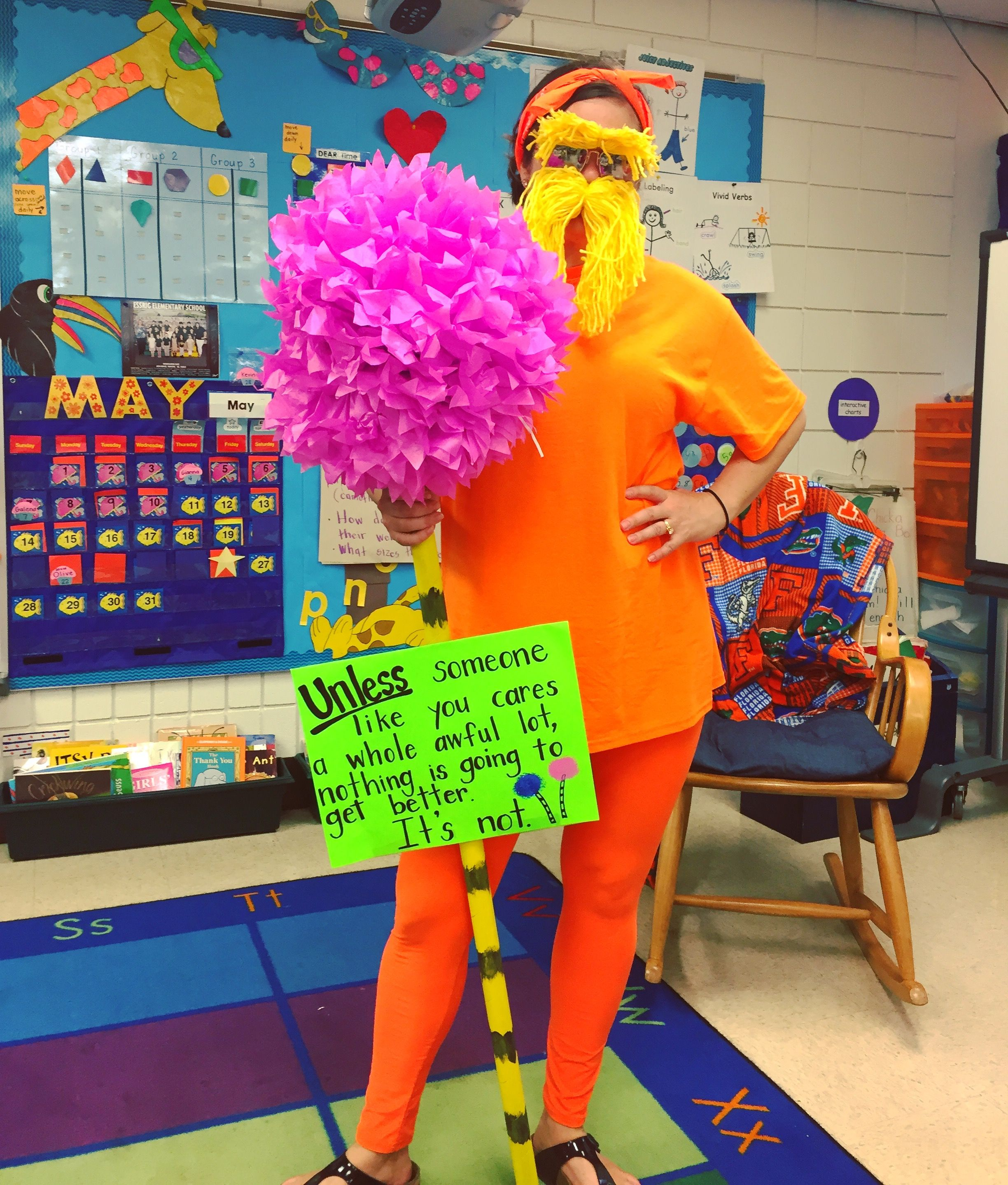 Storybook character costume. The Lorax. Dr. Seuss | Just because ...