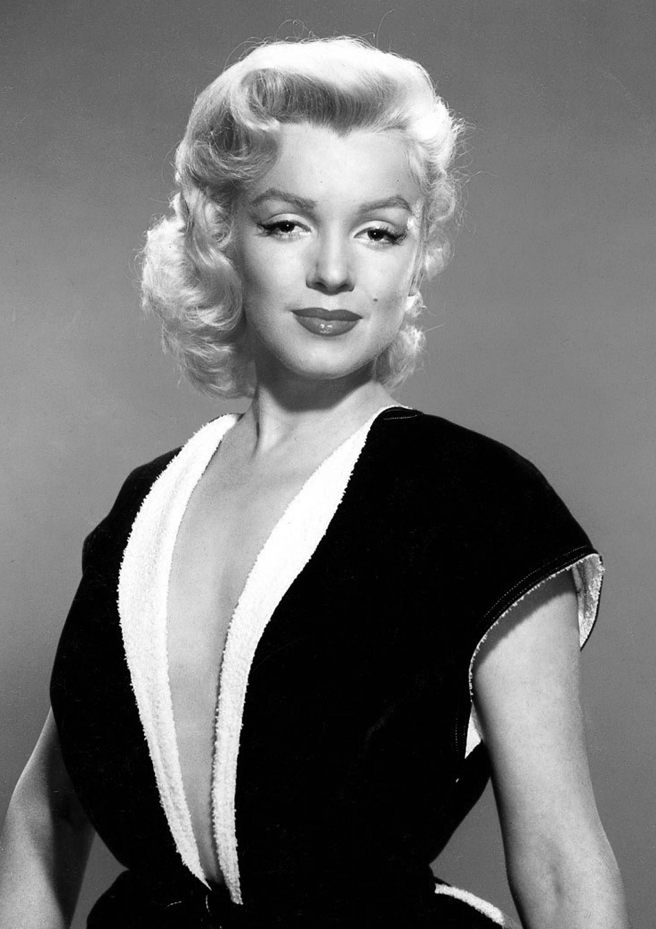 Marilyn Monroe Monochrome Photographic Print 58 (A4 Size - 210mm x ...