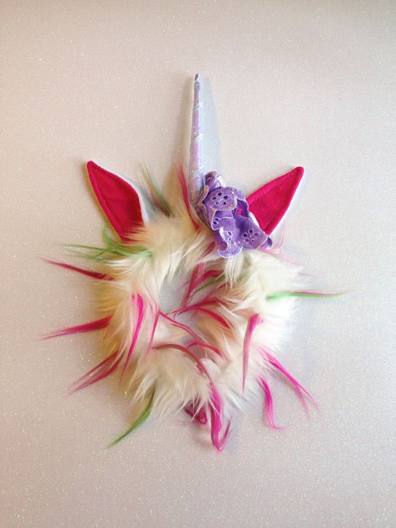 Unicorn Costume Unicorn Tail and Headband.  11ed48b8c50