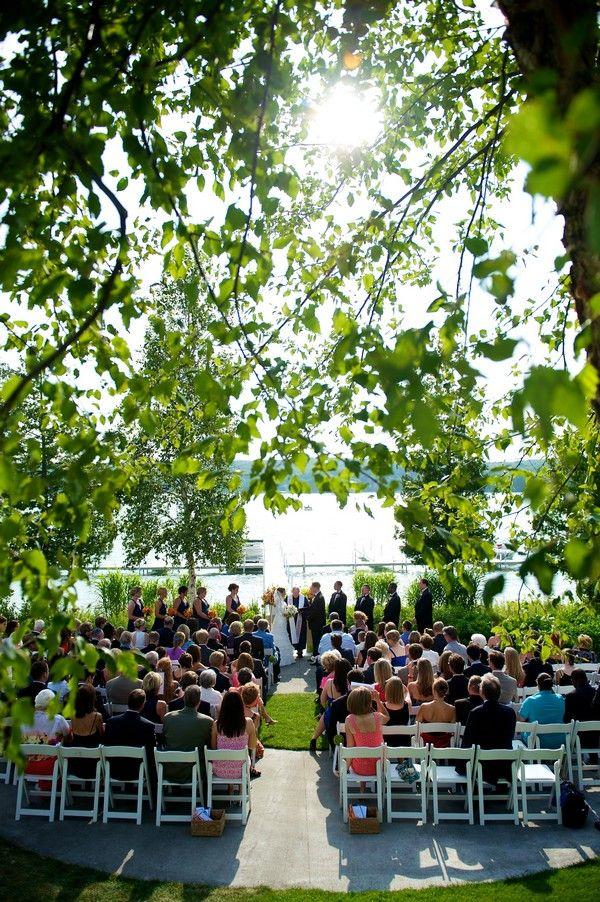 Lakeside Wedding Along The Shores Of Walloon Lake Walloon Lake