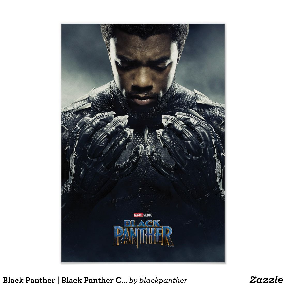 Black panther black panther character poster zazzle