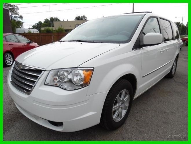 Car Brand Auctioned Chrysler Town Country Touring 2010 Touring