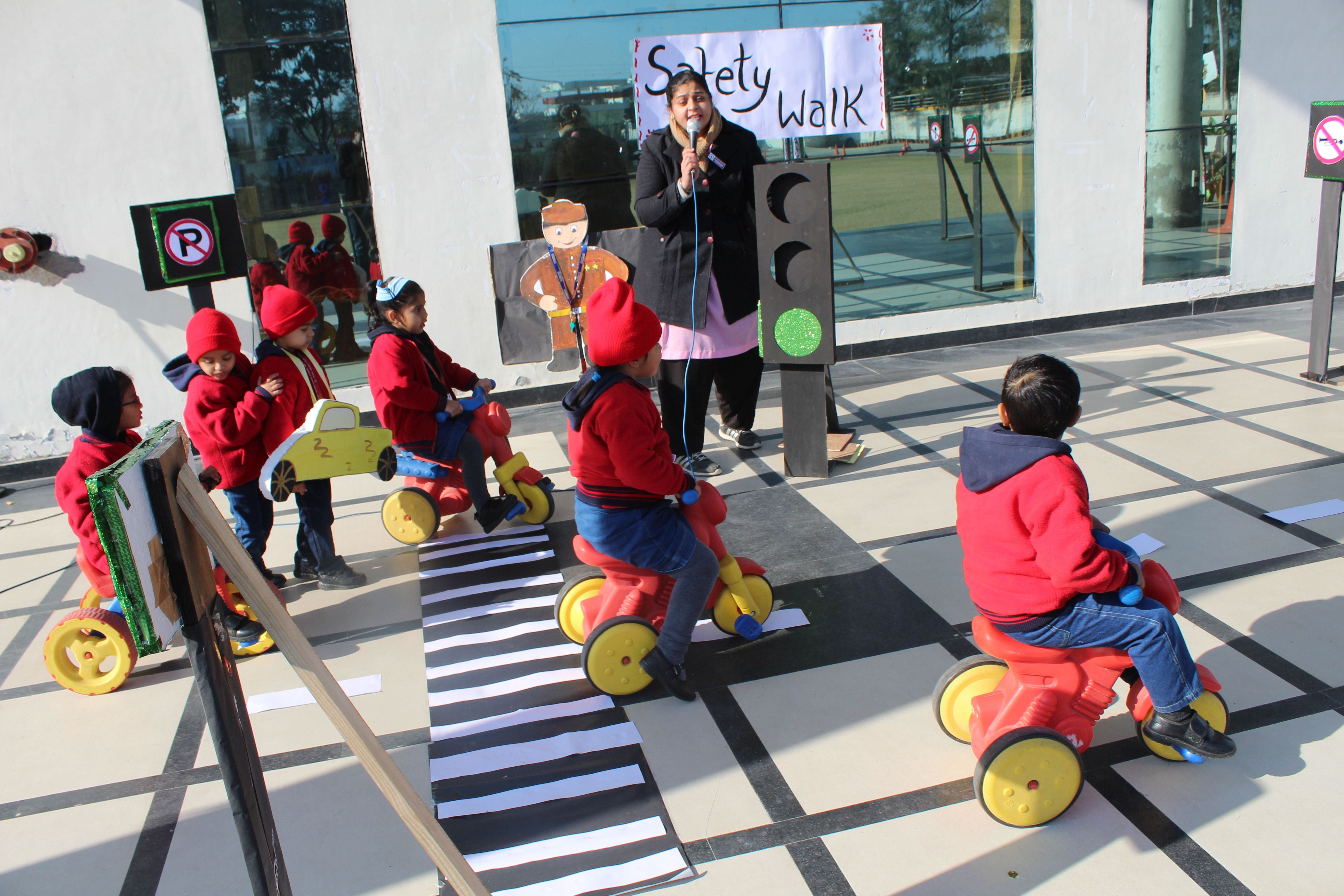 The Pre Primary wing of JSHS took the initiative to create
