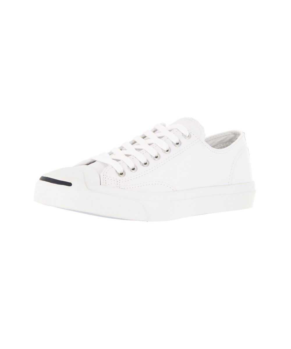 CONVERSE Converse Unisex Jack Purcell Lea Ox Casual Shoe .  converse  shoes   sneakers fdb33d766