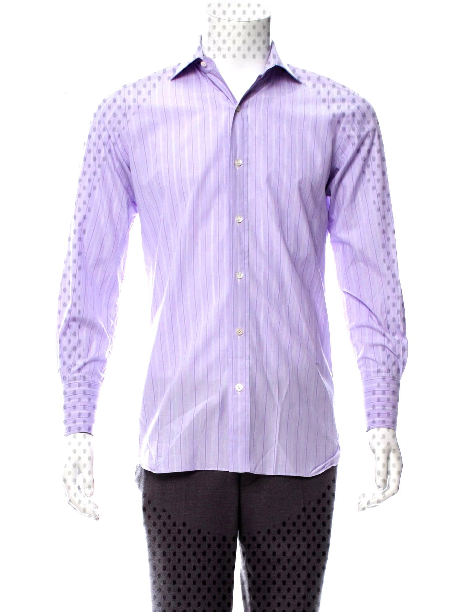 Tom Ford Striped Button-Up Shirt