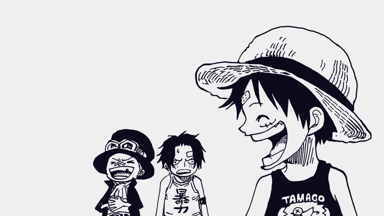 Zoro Understands Luffy One Piece Comic One Piece Manga One Piece Ace