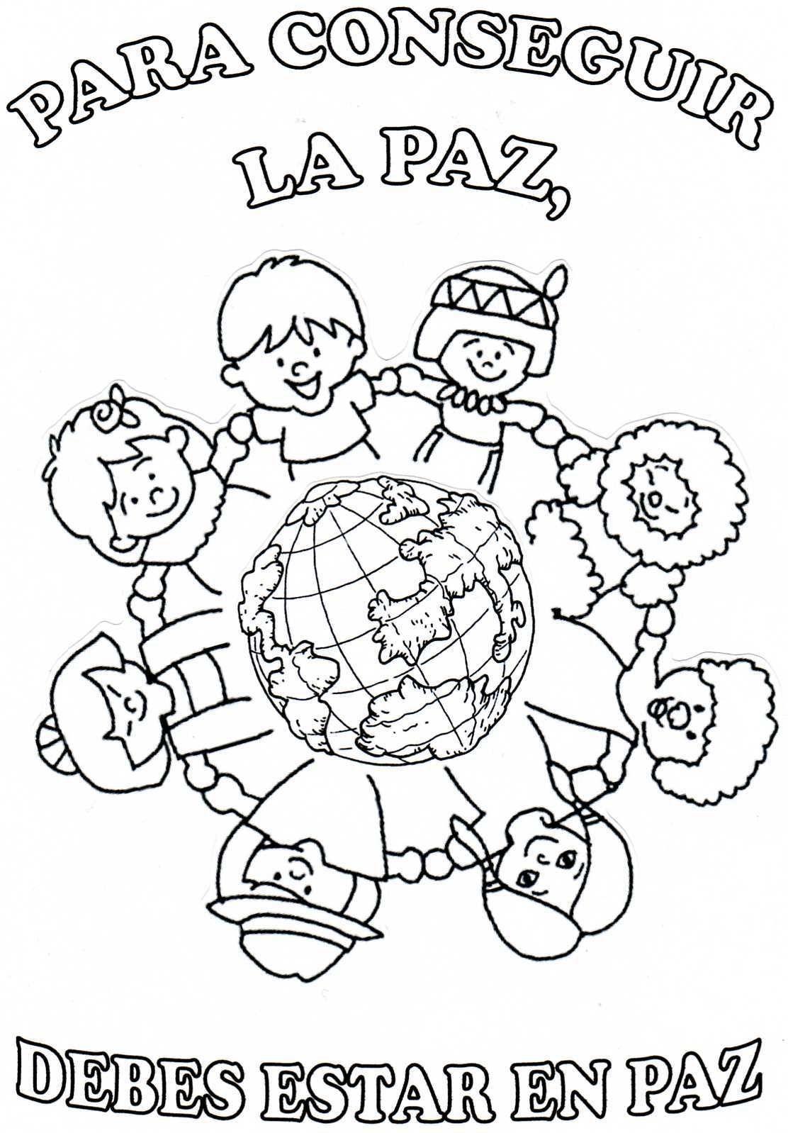El Valor De La Paz Dibujos De La Paz Dia De La Paz Letras De Canciones Infantiles
