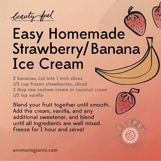 This recipe is made from whole foods, nearly guilt-free (there's just a bit of natural sugar), and super easy to make!