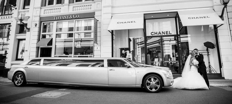 Perth Wedding Limo Hire King St Perth Chanel Louis Vuitton