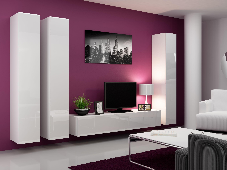 ensemble 3 meubles bas latéraux sous-vasque, plan et armoire de ...