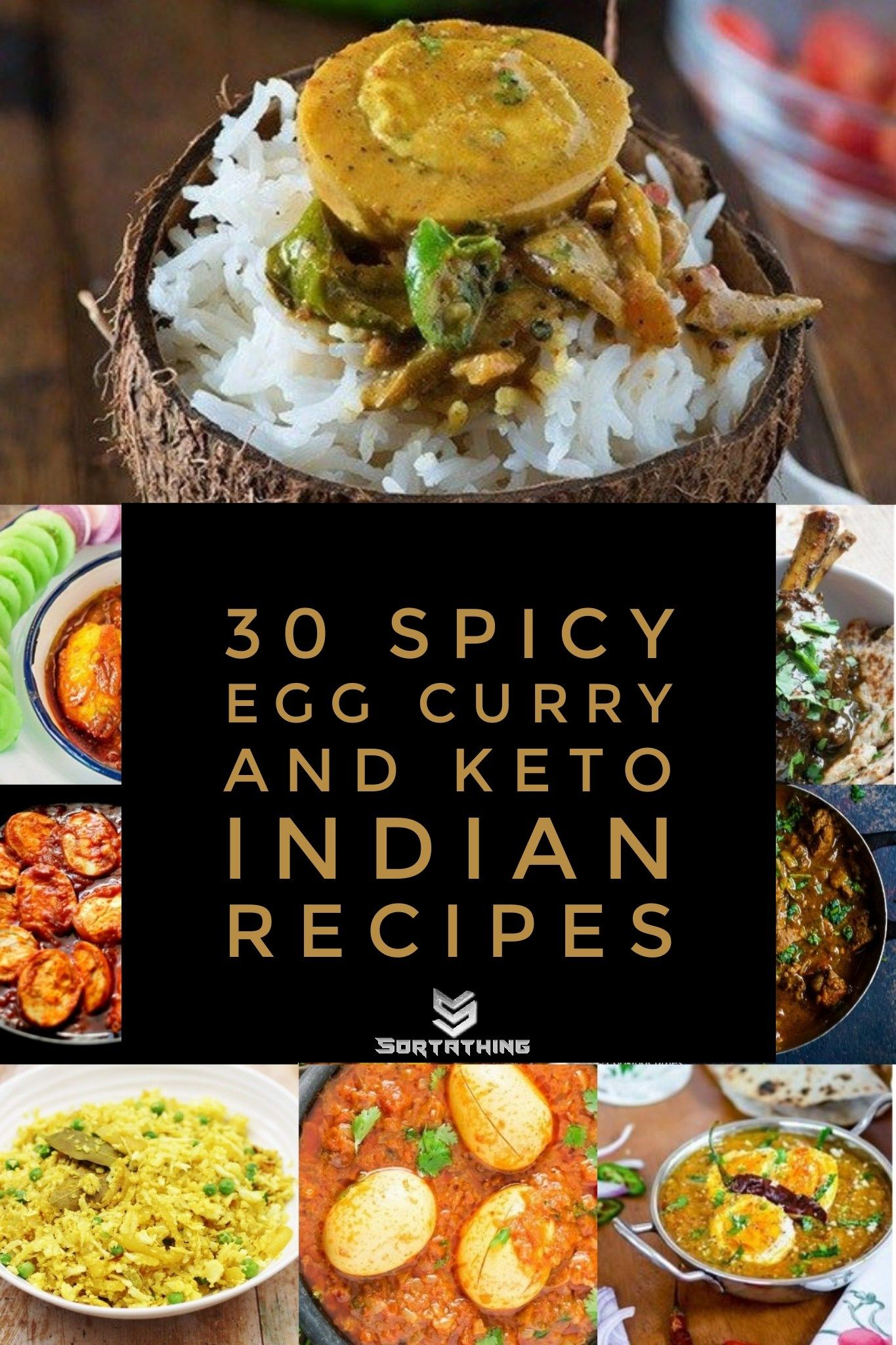 30 Spicy Egg Curry & Genius Keto Indian Recipes | Taste The