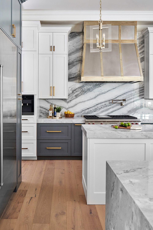 44 Gray Kitchen Cabinets Dark Or Heavy Dark Light Modern Home Decor Kitchen Kitchen Style Kitchen Design