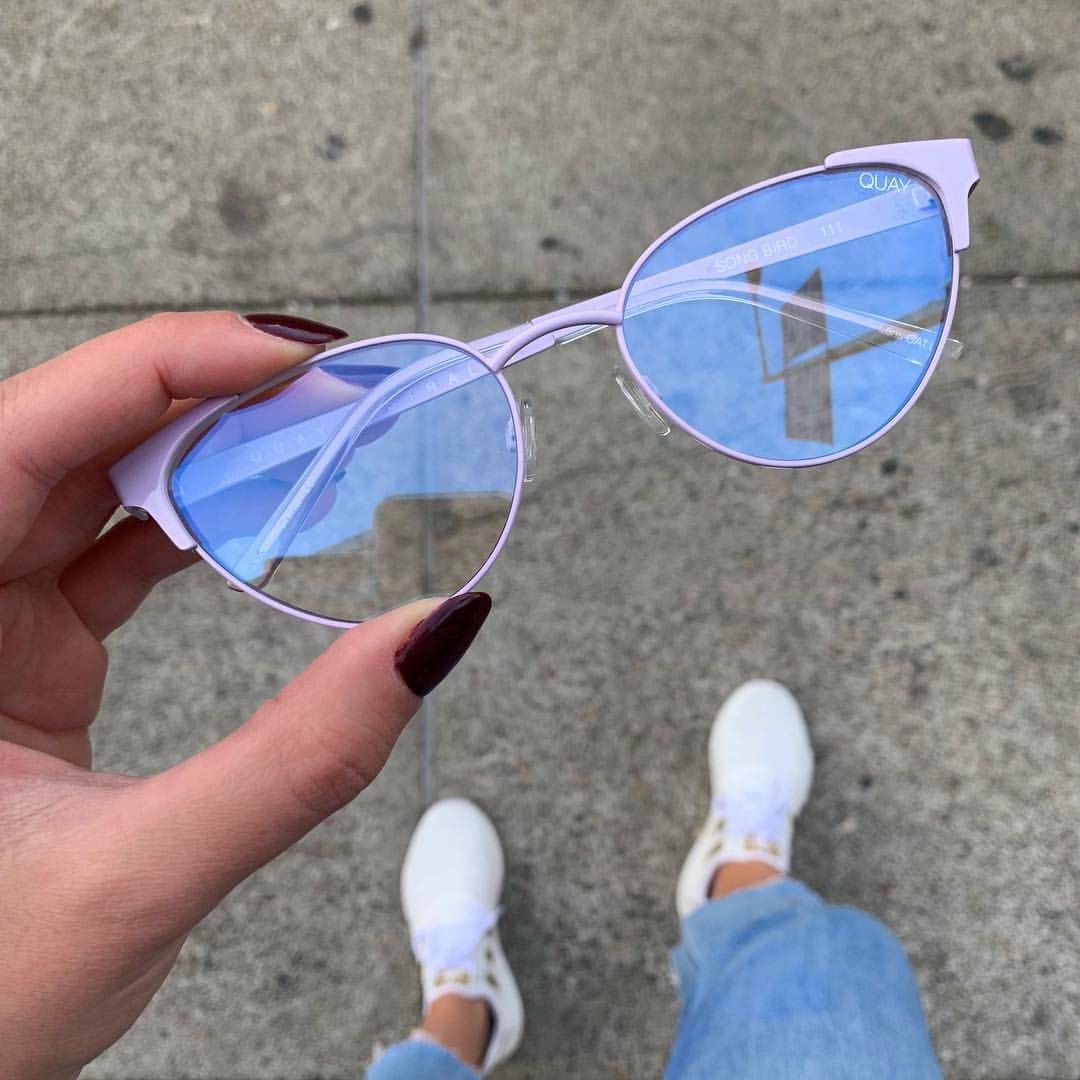 "0ccd5ccf01 QUAY AUSTRALIA on Instagram  ""SONG BIRD 🐦 Up your specs appeal in these  catty new Blue Light filtering glasses 🖤 Bonus—they re Rx-able"
