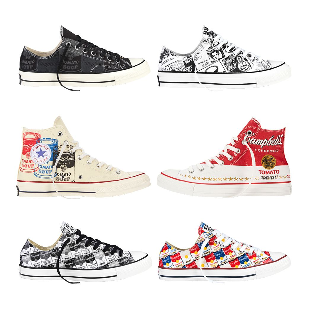 d9f89507fd619f Andy Warhol Chucks. Andy Warhol Chucks Converse Chuck Taylor All Star ...