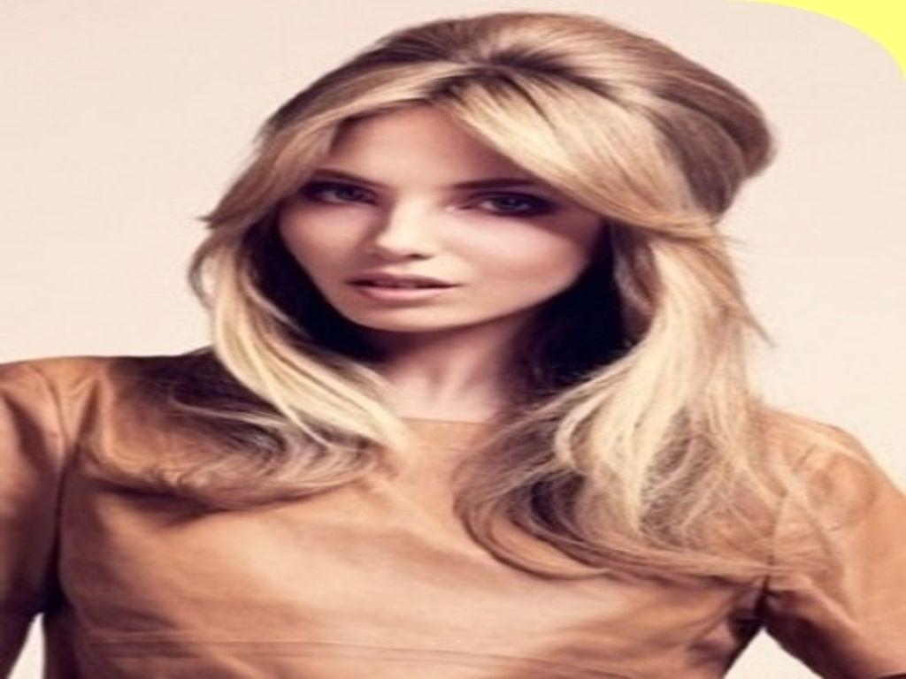 Einfache Frisuren Für Schulterlanges Haar Pony Trend