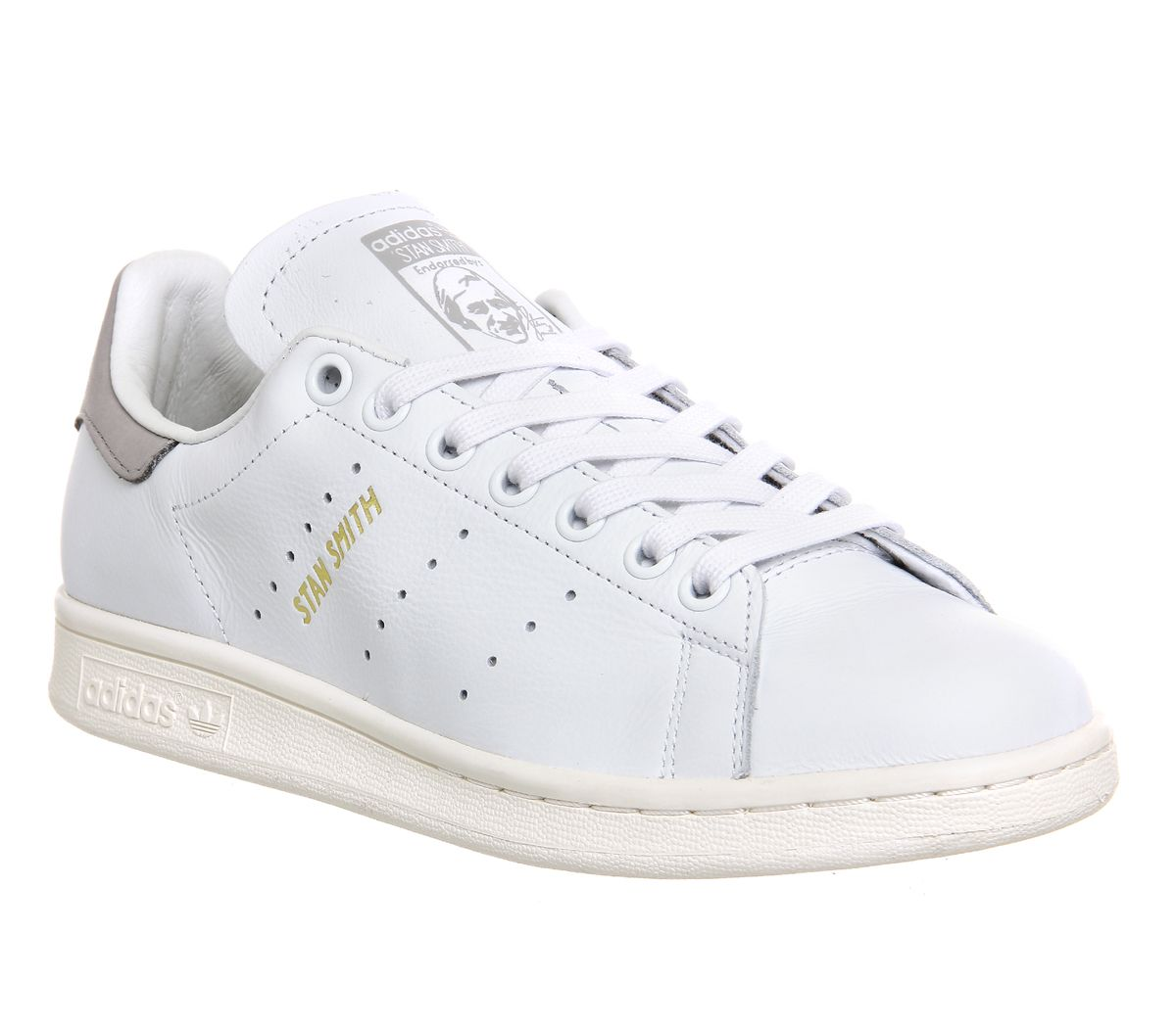 Buy Premium White Grey M Adidas Stan Smith from OFFICE.co.uk.