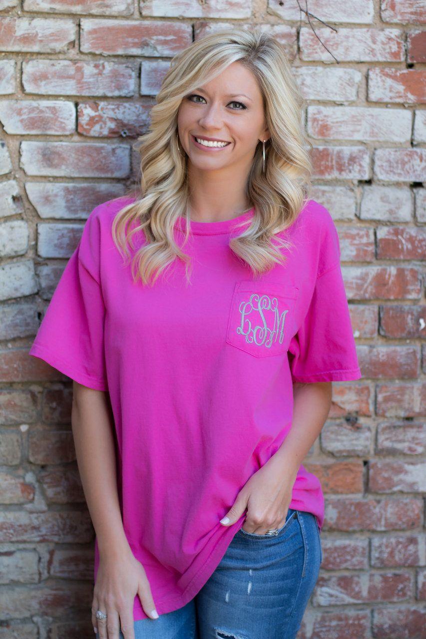 Comfort Colors Womens Ladies Tee T-Shirt
