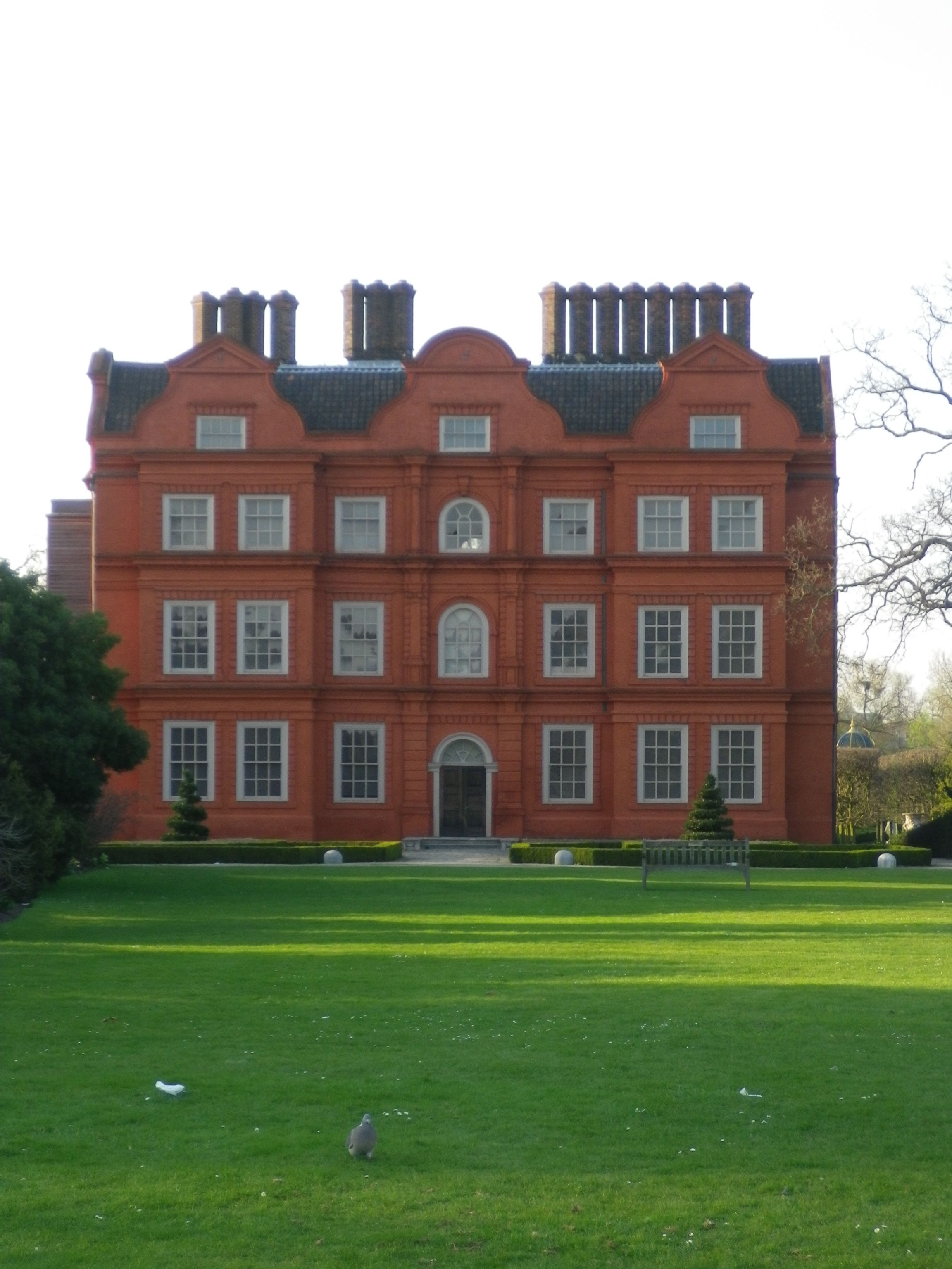 Kew Palace, recently renovated, was where George III was incarcerated during his 'madness', the Regency period.