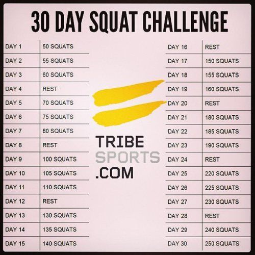 30 Day squat Challenge...I am a day behind so I got some catching up to do. Here it goes!! Mission buns of steel! - Michaella
