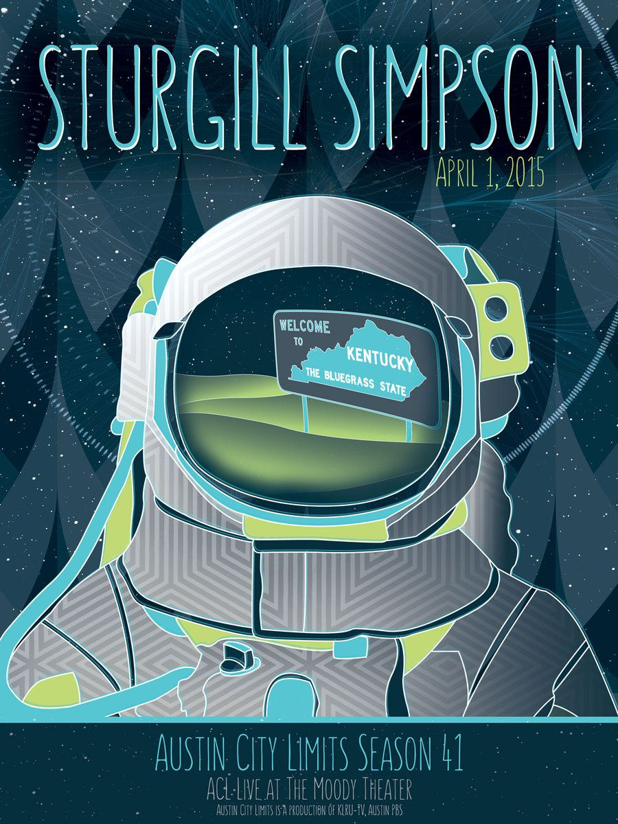 sturgill simpson simpson band posters