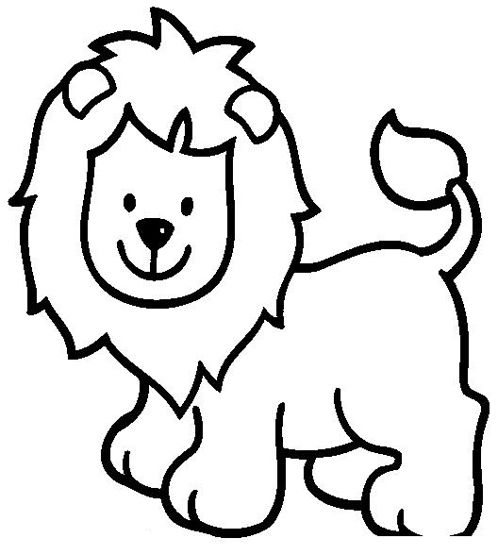 Aslan Boyama4 Anaokulu Zoo Animal Coloring Pages Lion Coloring