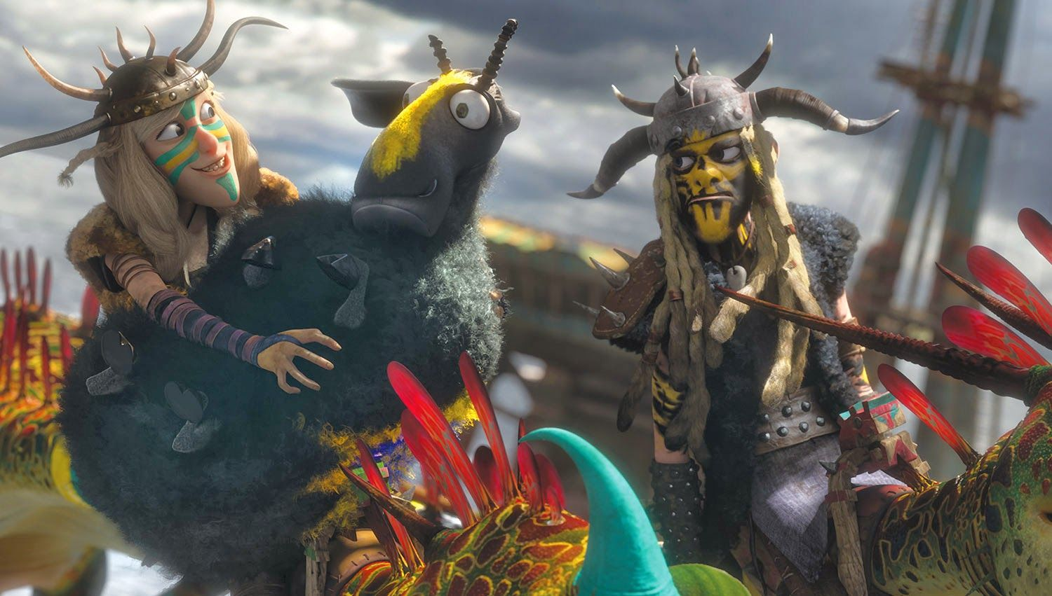 viking how to train your dragon