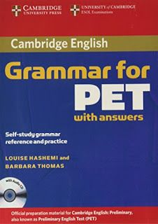 Cambridge English Grammar for PET with Answers in 2020 ...