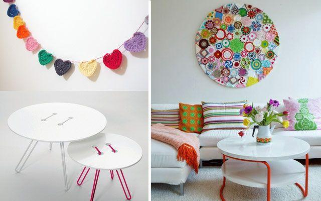 Ideas para decorar con crochet y punto almohadas for Decoracion hogar a crochet