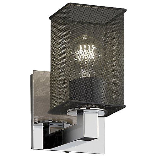 Photo of Wire Mesh Modular Wall Sconce