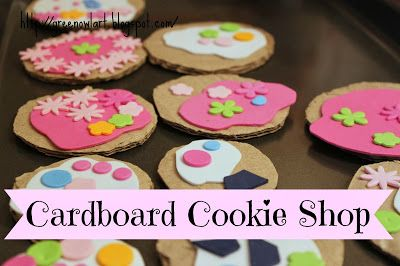 Cardboard Cookie Shop
