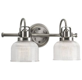 View the Progress Lighting P2991 Archie Two Light Bathroom Vanity Light at Build.com. nickel or chrome $108