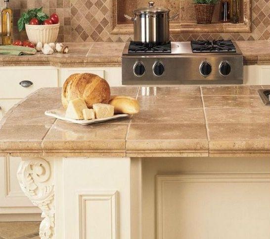 Ideas de encimeras de azulejos para decorar la cocina for Azulejos rusticos