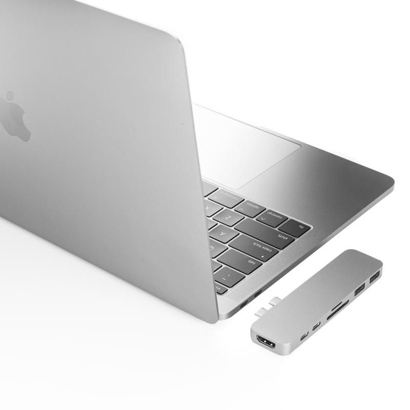Hyperdrive 7 In 2 Hub For Usb C Macbook Pro 13 15 2016 2017 2018 And Macbook Air 2018 Kickstarter Version Macbook Pro Macbook Macbook Pro 2016