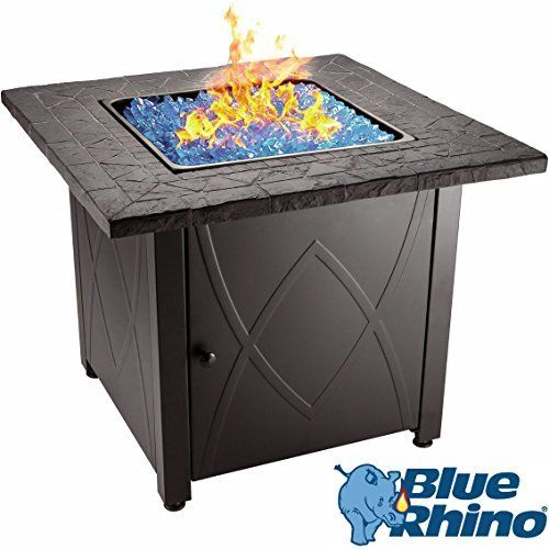 Blue Rhino Outdoor Propane Gas Fire Pit Review Gas