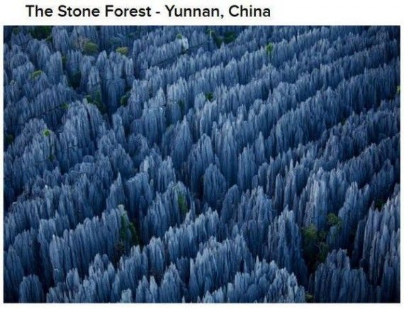 Places That Are Actually Real But Dont Look So