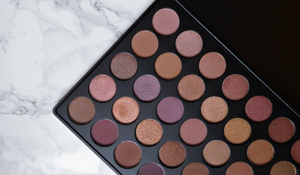 Morphe Brushes Palette 35T review