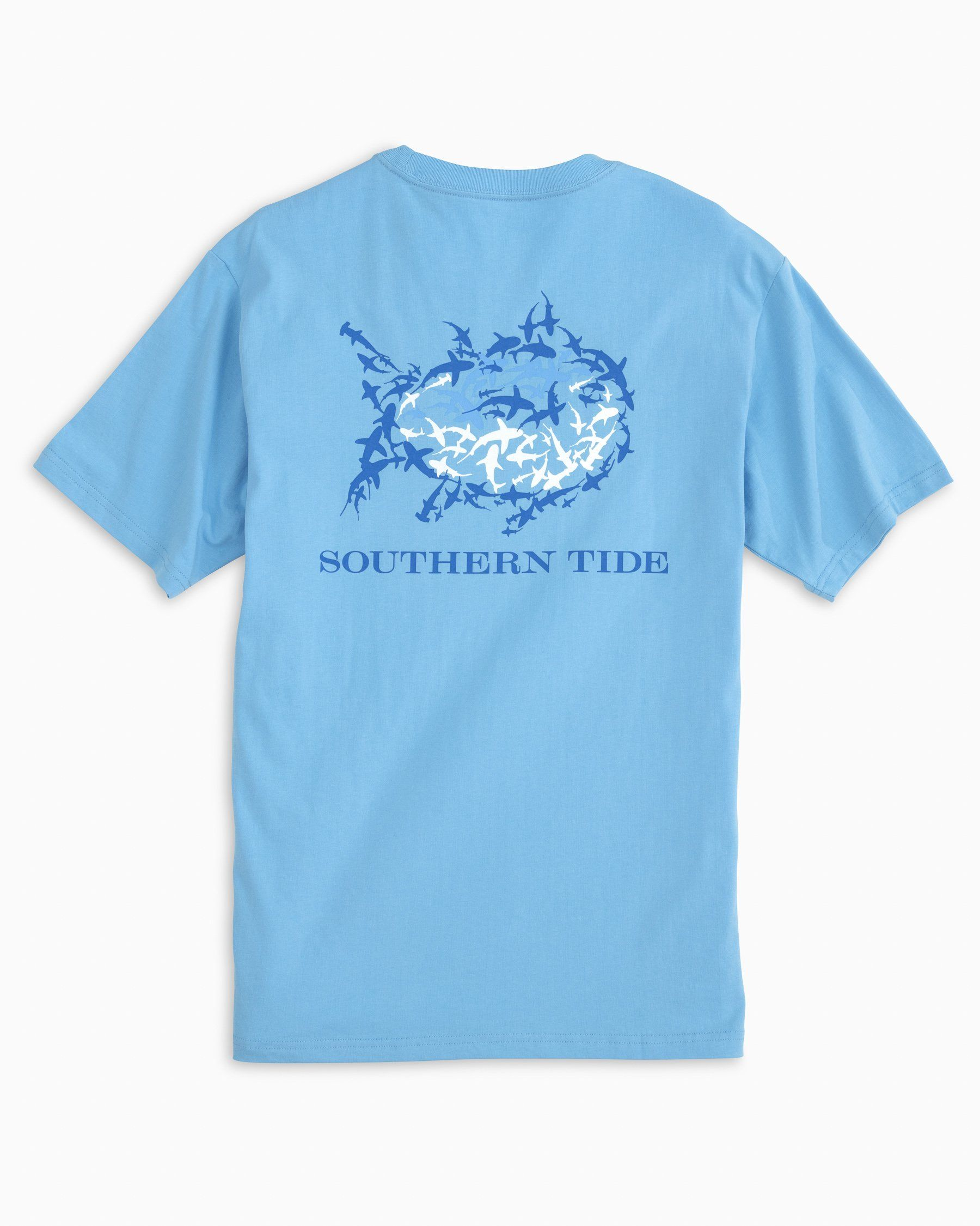 Southern Tide Men/'s Classic White Weathered Skipjack Short Sleeve T-Shirt