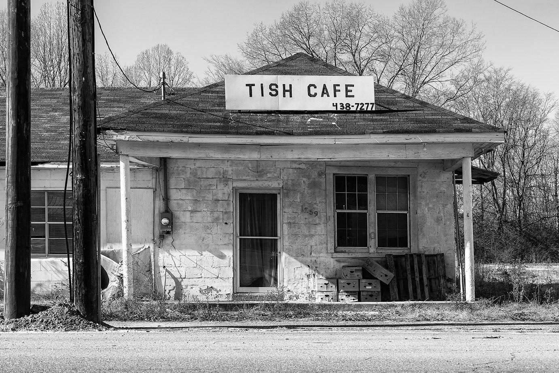 Old Cafe In Tishomingo Mississippi A0023402 Tishomingo Black And White Photographs Old Pallets