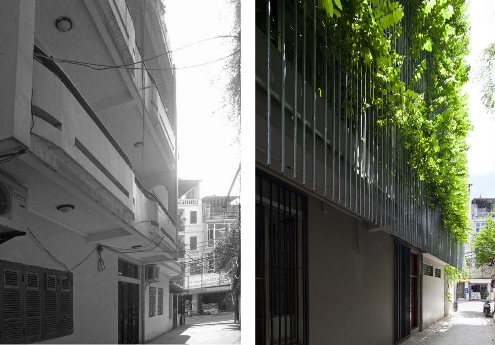 Greenfall Renovation | Vo Trong Nghia Architects #before