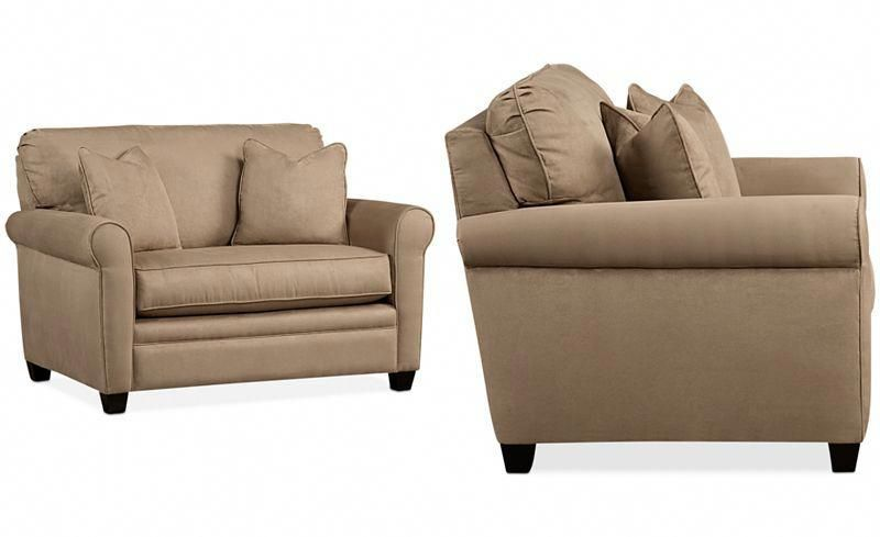 Kaleigh 55 Fabric Single Sleeper Chair Bed Twin Sleeper Sofa