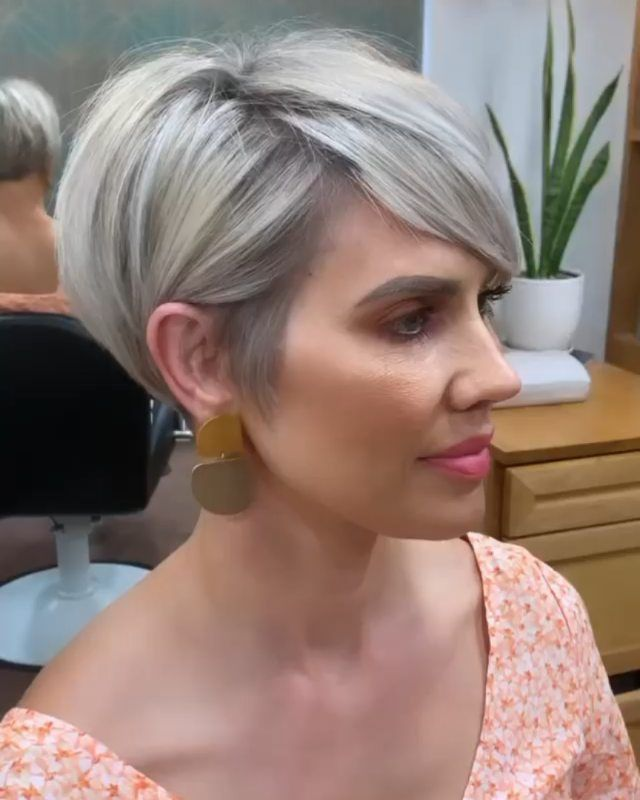 """Short Hairstyles 2021 on Instagram: """"Super pixie 💚💚💚 Follow @new_short_hairstyles  . Repost from @donnie.flaherty .  👤Like on Youtube (Link in bio)  . 👉 Follow…"""""""