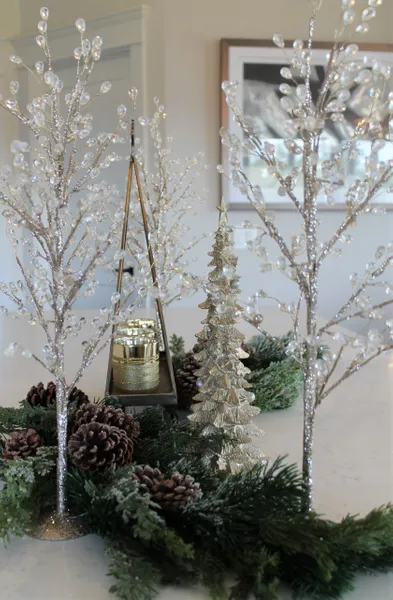 20 Glittered Tree With Jewels Raz Imports Christmas Holiday Decor Christmas Decorations