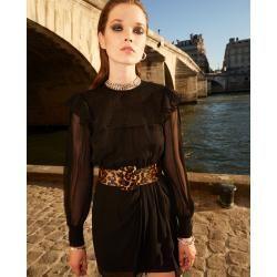 Photo of The Kooples short smocked dress in black – Herrenthekooples.com