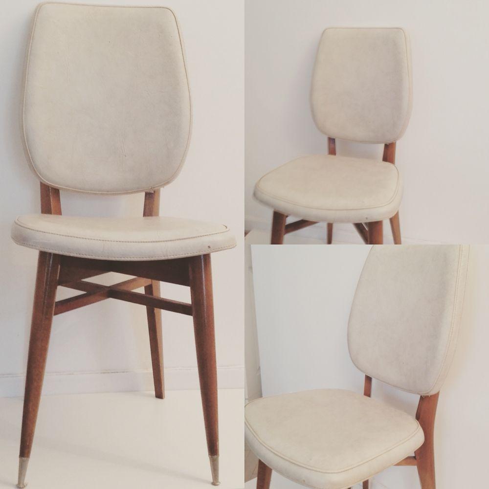 Chaise De Style Scandinave Vintage Des Annees 70 Chaise Vintage Mobilier De Salon Decoration Maison
